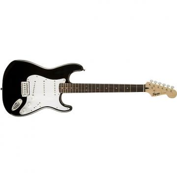 Custom Squier Bullet® Strat® with Tremolo Black