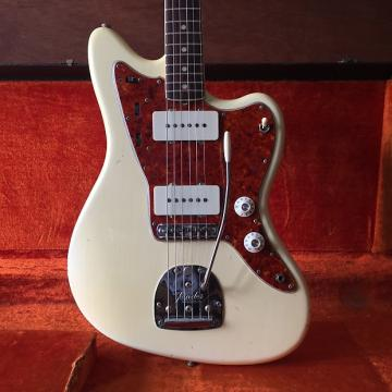 Custom 1965 Fender Jazzmaster (Olympic White w/ Matching Headstock)