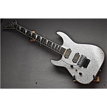 Custom Jackson Left Handed USA Custom Shop SL2H Soloist 2016 Silver Sparkle Lefty Guitar