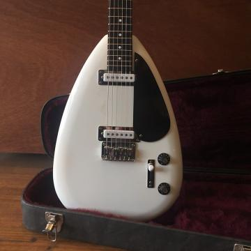Custom Phantom Guitar Works Brian Jones Two Pickup Teardrop White