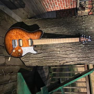 Custom Music Man Premier Dealer Network Axis Super Sport Vintage Tobacco