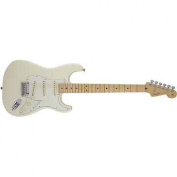 Custom Fender American Standard Stratocaster® Maple Fingerboard Olympic White - Default title