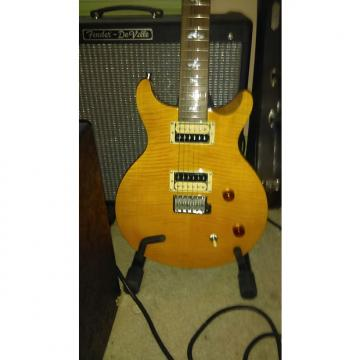 Custom Paul Reed Smith PRS SE Santana Yellow W/ Case & Gig bag Locking tuners.