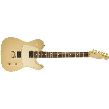 Custom Squier® J5 Telecaster® Frost Gold