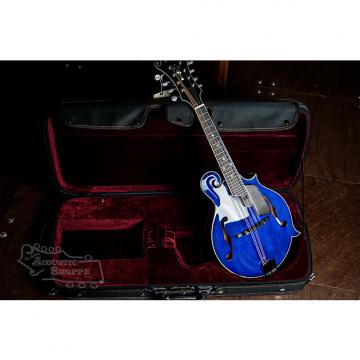 Custom Eastman MD815PGE-BLU F-Style Mandolin