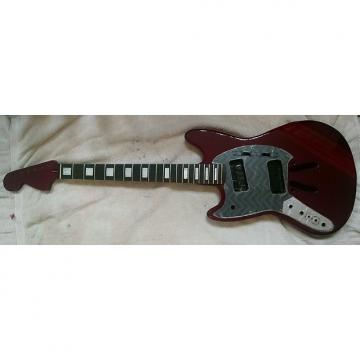 "Custom LEFT Handed 25.5"" scale length Mustang style parts - Body/Neck/Pickguard"