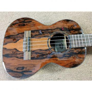 Custom Kala KA-ZCT-T Ziricote Tenor Ukulele, High Gloss, Ziricote Body, Exotic, Tusq Nut/Saddle