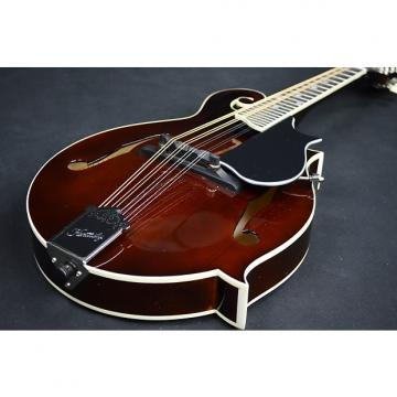 Custom Kentucky KM 656 F-Style Mandolin 2017 Transparent Brown High Gloss