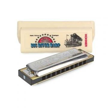 Custom Hohner Big River 10 Hole Diatonic Harmonica Key  B