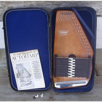 Custom Oscar Schmidt (U.S.A.) 15-Chord Autoharp 1966