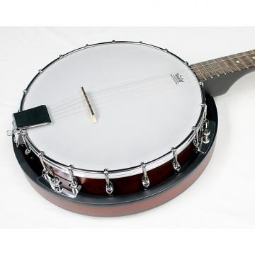 Custom Savannah SB-080 18-Bracket 5-String Banjo with Nato Resonator, NEW!! #11347