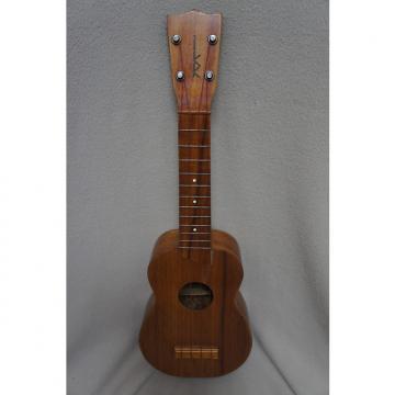 Custom Kamaka Koa Soprano Uke Gold Label 1960's
