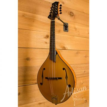 Custom Collings Custom MT2 Mandolin Italian Spruce and Birdseye Maple with Honey Amber Finish