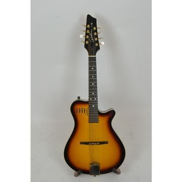 Custom Godin A8 electric mandolin w/gig bag, Cognac Burst, used