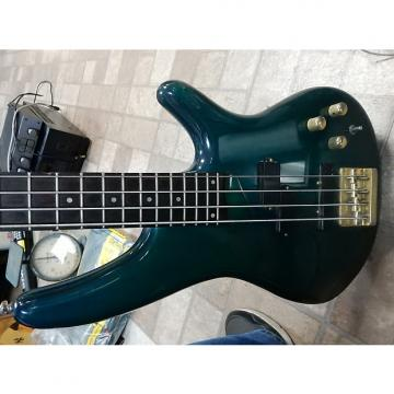 Custom SDGR SOUNDGEAR BY IBANEZ SR590 GREEN 4 STRING GUITAR