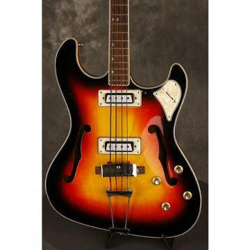 Custom Toledo HOLLOWBODY BASS  1960s Sunburst