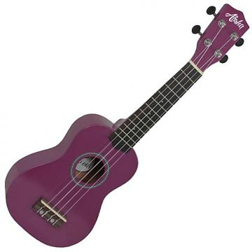 Custom Aloha 200 Purpura ukelele soprano, ukulele