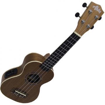 Custom Aloha 500EQ ukelele soprano electrificado