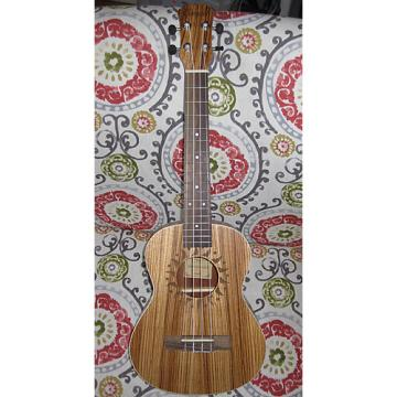 Custom Zebrawood Tenor Ukulele w/ Gigbag