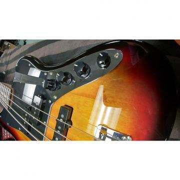 Custom Fender Squier Vintage Modified Jaguar Bass 2015 3 Tone Sunburst