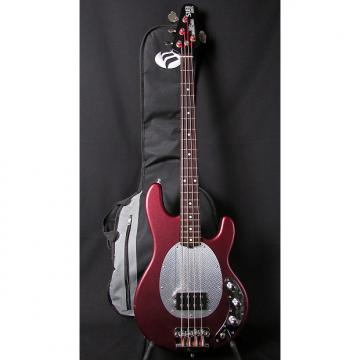 Custom 1990's Music Man SUB Bass 4 String Textured Red Finish w/Gigbag!