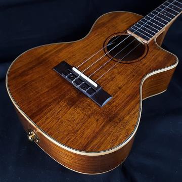 Custom New KALA KA-KTGE-C All Hawaiian Koa Tenor Acoustic Electric Ukulele w/ EQ