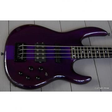 Custom Carvin LB70 Bass Active-Passive with Hardshell Case 2000s Trans Purple