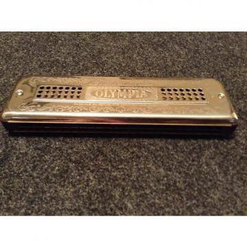 Custom Olympia Double Side, Double Reed Harmonica Key C / G