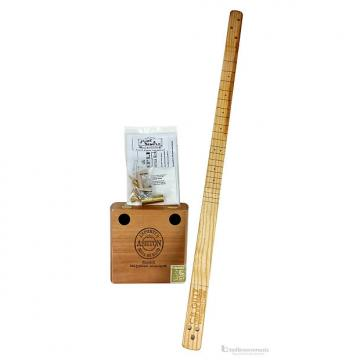 "Custom C.B. Gitty Complete ""Pure & Simple"" Cigar Box Guitar Kit"