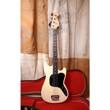 Custom Fender Musicmaster Bass 1978 White