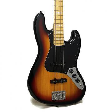 Custom Squier Vintage Modified Jazz Bass '77 Electric Bass - 3-Color Sunburst