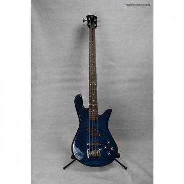 Custom Spector LG4STDBLSG Legend 4 Standard 2016 Blue Stain Gloss