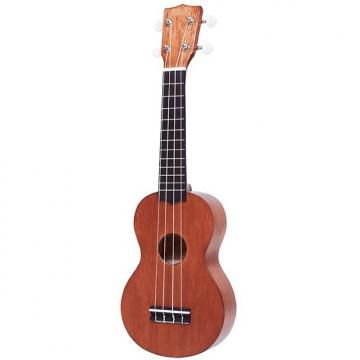 Custom Mahalo Kahiko Plus Left Handed Ukulele Trans Brown