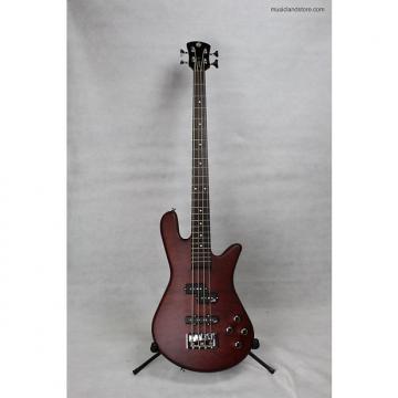 Custom Spector Legend 4 Neck-thru Bass Guitar 2016 Walnut Matte