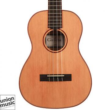 Custom Cordoba 24B Baritone Ukulele Solid Cedar Top Spalted Maple Back & Sides