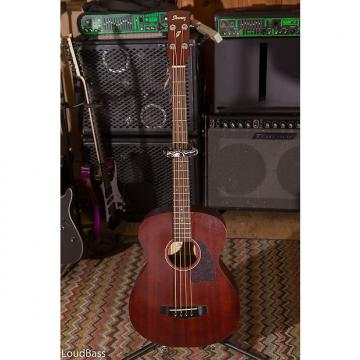 Custom Ibanez PCBE12MH 2016 Open Pore Mahogany Acoustic bass with pickup Blow Out!