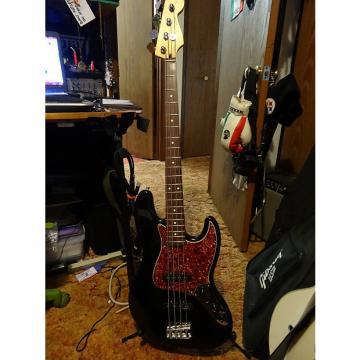 Custom Fender Deluxe Mexican Jazz Bass Black