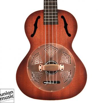 Custom Kala Resonator Brass Tenor Ukulele KA-RES-BRS Sunburst Satin