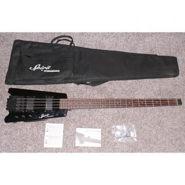 Custom Steinberger Spirit XT-2 Standard Bass Guitar Black Excellent Condition In Original Case