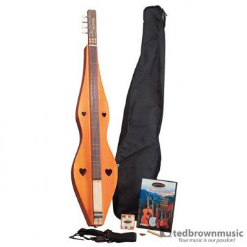 Custom Saga Appalachian Dulcimer Pickin' Pack - With DVD, Strap, Gig Bag, and Pitch Pipe