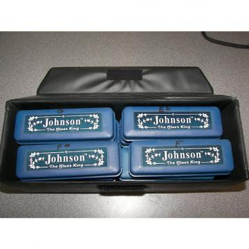 Custom Johnson Blues King Harmonicas - set of 12 Johnson Blues King set of 12