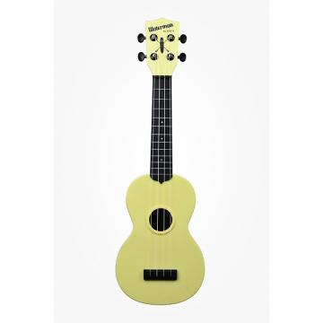 Custom Kala KA-SWB-Yellow Waterman Series Ukulele Yellow
