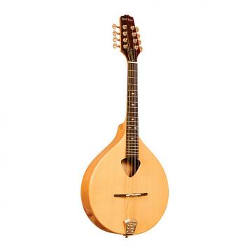 Custom Gold Tone Mandola Traditional Irish Mandola with Case