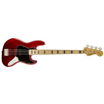 Custom Squier Vintage Modified Jazz '70s Bass Guitar - Candy Apple Red