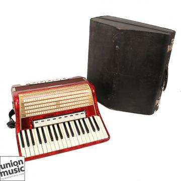 Custom Weltmeister 7/8 Size German Made Vintage Accordion 37 treble 92 bass including diminished chords