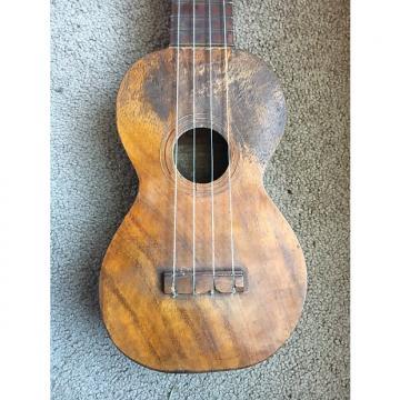 Custom 1917 M. Nunes & Sons Soprano Ukulele Koa
