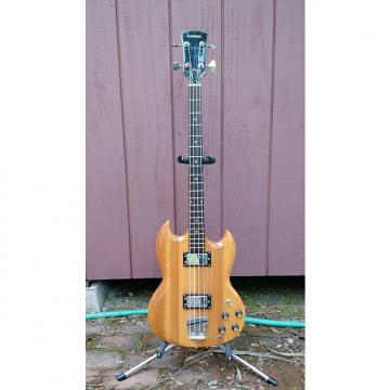 Custom Madeira MB-100 (Guild) Short Scale Bass 1970s Natural