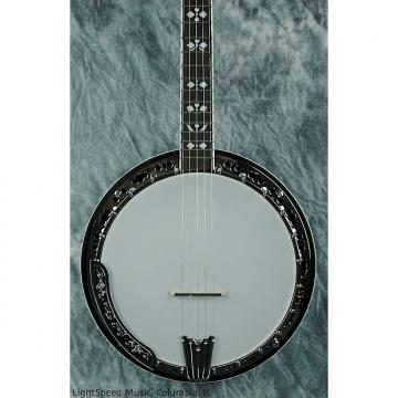 Custom Gold Tone BG-150F 5-String Bluegrass Resonator Banjo w/ Fancy Inlays