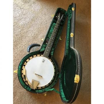 Custom Deering Boston Six String Banjo 2009 Mahogany Stain