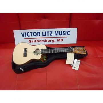 Custom Kala Concert travel ukulele kasstusmcc Spalted Maple with gig bag